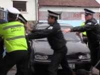 Polițist local lovit de o mașină în Baia Mare