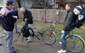 Polițiști din Italia, în căutare de biciclete furate prin Maramureș