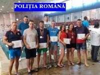 Polițiști maramureșeni pe podium la Campionatul de Înot al M.A.I.