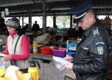 Polițiștii au acționat împotriva COMERŢULUI ILICIT în Baia Mare, Borșa și Vișeu de Sus