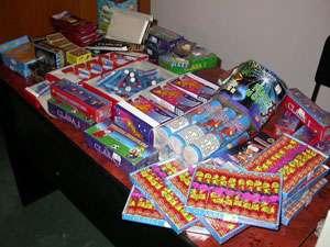 """Poliţiştii maramureşeni au confiscat 360 kg de articole pirotehnice pe durata desfăşurării acţiunii """"FOC DE ARTIFICII"""""""