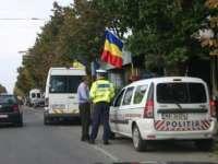 Poliţiştii maramureşeni au desfăşurat acţiunea Truck & Bus - verificarea legalităţii transporturilor rutiere de persoane şi mărfuri