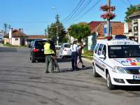 Polițiștii maramureșeni desfășoară astăzi acțiuni pentru prevenirea accidentelor, în zona trecerilor la nivel cu calea ferată