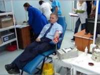 Polițiștii maramureșeni donează sânge