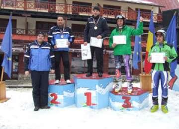 Polițiștii maramureșeni s-au clasat pe primele locuri la Campionatul de Schi al Ministerului Afacerilor Interne
