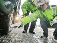 POLIȚIȘTII RECOMANDĂ: În condiții de iarnă, circulați prudent!