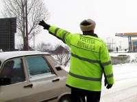 Poliţiştii rutieri - Acţiune pentru combaterea vitezei excesive
