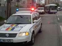 Poliţiştii rutieri au acţionat la sfârşitul săptămânii trecute pentru combaterea vitezei excesive