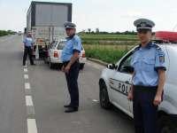 Poliţiştii rutieri au acţionat pe DN 18 pentru combaterea vitezei excesive