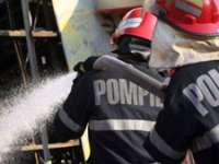 Pompierii maramureşeni au intervenit la stingerea a trei incendii pe raza judeţului