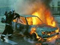 Pompierii sigheteni au lichidat ieri un incendiu izbucnit la un autoturism