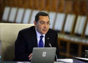 Ponta donează diferența dintre noul și vechiul salariu de demnitar