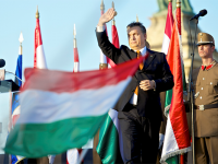Premierul ungar Viktor Orban, fluierat la comemorarea revoltei anticomuniste din 1956
