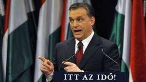 Premierul Ungariei, Viktor Orban, s-a recules la mormântul românului omorât în bătaie de doi poliţişti unguri