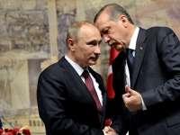 Președintele Turciei, Recep Tayyip Erdogan, la Sankt-Petersburg pentru a sparge gheața în relațiile cu Putin