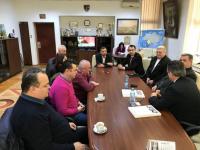Președintele Uniunii Naționale a Patronatului Român în vizită la Consiliul Județean Maramureș