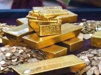 Prețul aurului în scădere după soluționarea impasului bugetar din SUA