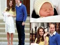 Prima ședință foto pentru prinţesa de Cambridge, fetiţa cuplul princiar