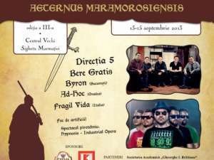 """Prima zi a Festivalului medieval """"Aeternus Maramorosiensis"""" - Află programul pentru astăzi"""