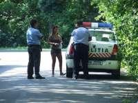 Prostituate și cerșetori amendați de polițiștii maramureșeni