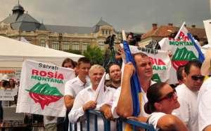 PROTEST: Baia Mare iese in strada pentru Rosia Montana in 1 septembrie 2013