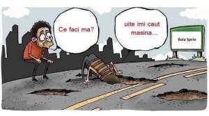 PROTEST din cauza drumurilor proaste – Transportatorii amenință cu blocarea intrărilor în marile orașe începând cu 23 mai