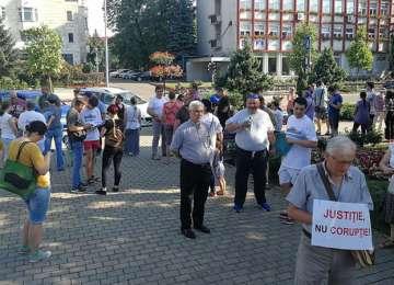 PROTEST în Baia Mare împotriva modificării codurilor penale