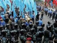 Proteste în Ucraina: Peste o mie de persoane au blocat accesul în sediul guvernului de la Kiev