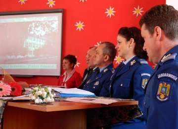 Protocol de colaborare între Jandarmeria Maramureș și orașul Cavnic