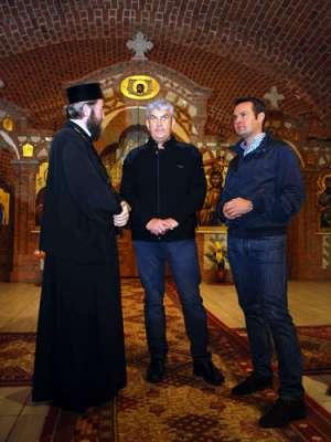 PS Justin Sigheteanu a primit vizita vicepremierului Romaniei, Gabriel Oprea