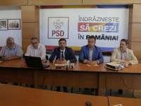 PSD Maramureș susține moțiunea de demitere a Guvernului Grindeanu