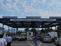 Punctul de frontieră de la Sighet este foarte aglomerat de Sărbători