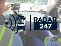 RADARE - Amplasarea aparatelor radar pentru miercuri, 21 iunie