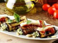 Rapid, uşor şi bun: Rulouri de vinete cu brânză