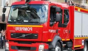RECEA: Incendiu provocat intenţionat de către persoane necunoscute