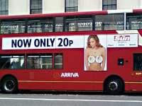 """Reclamele cu trupuri """"nerealiste"""", interzise în transportul în comun londonez"""