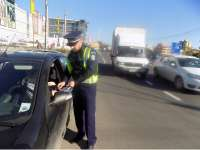 RECORD - Amenzi de peste 24.000 de lei aplicate de poliţiştii rutieri în doar două ore