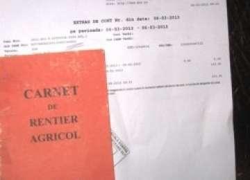 Rentierii agricoli își pot viza carnetele începând cu 1 martie
