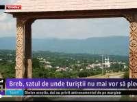 REPORTAJ VIDEO - Satul Breb, locul care te îndeamnă să nu mai pleci