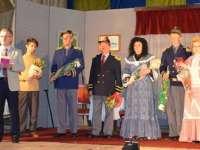 """Reprezentația piesei de teatru """"O noapte furtunoasă"""", pusă în scenă de Centrul Cultural Sighet în Biserica Albă, Ucraina"""