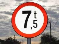 Restricţii de tonaj pe două drumuri judeţene