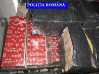 Reţea specializată în contrabandă cu ţigarete destructurată de poliţiştii maramureşeni