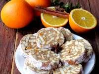 REȚETE DE POST: Salam de biscuiți cu portocale