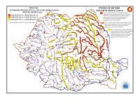 Risc de viituri sau creșteri rapide ale nivelului apei în Maramureș