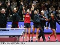 România este noua campioană europeană la tenis de masă