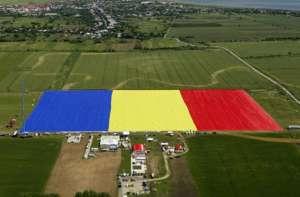 România, în Cartea Recordurilor cu cel mai mare steag din lume