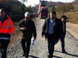 ROMÂNIA PITOREASCĂ - În prag de iarnă, încep lucrările la drumul Baia Sprie - Bârsana