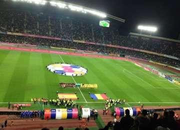 România - Spania 0-0, în meci amical la Cluj Arena