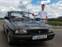 Românul în vârstă de doar 21 de ani a inventat un dispizitiv prin care îşi porneşte Dacia 1310 prin SMS