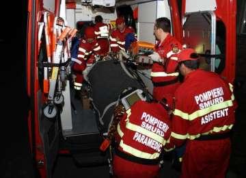 Rona de Sus: Băut fiind, a provocat un accident rutier cu trei victime